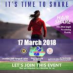 Fun Run #Hair to Share • 2018