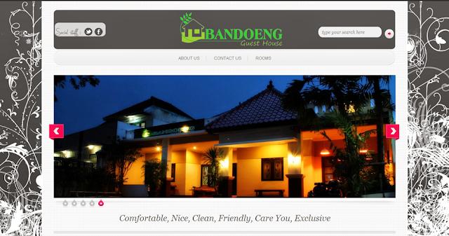 Bandoeng Guest House Official Site