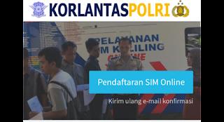 Panduan Pembuatan SIM Kendaraan bermotor Online