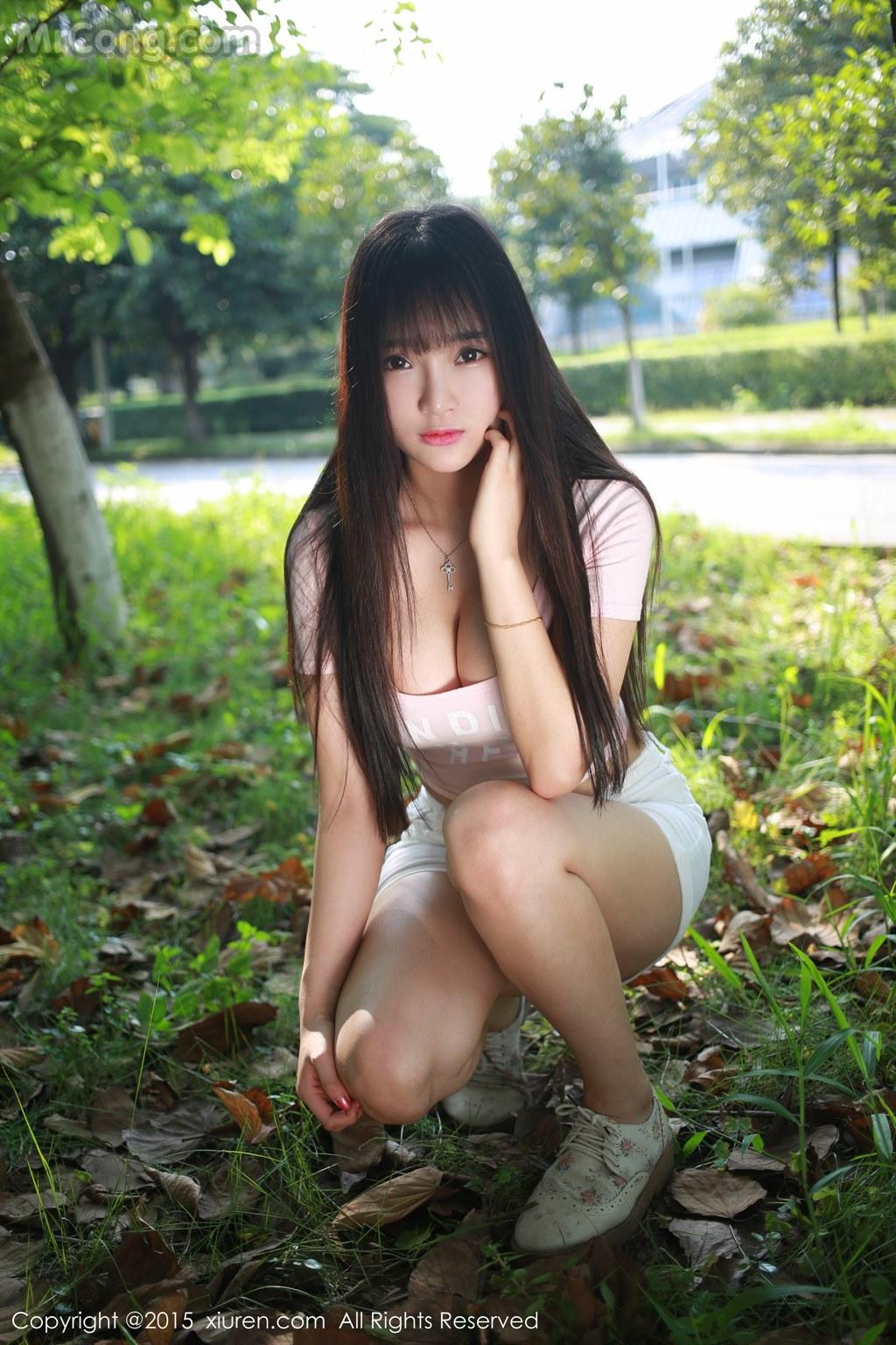 MrCong.com XIUREN No.345 Xia Yao baby 007 - XIUREN No.345: Model Xia Yao baby (夏 瑶 baby) (43 pictures)