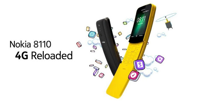Nokia 8110 4G 'Banana phone' now supports Facebook globally
