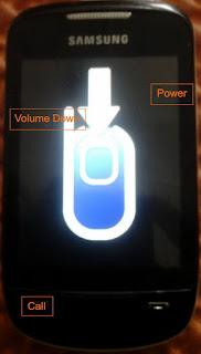Samsung GT-S3850 Flashing