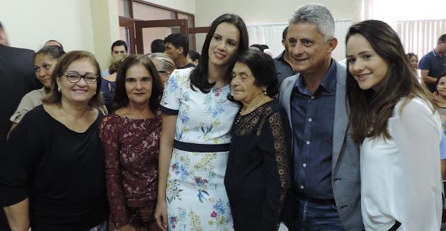 Dayse Juliana, o vice-prefeito e os vereadores eleitos são diplomados em Primavera