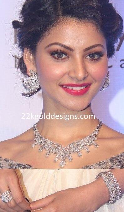 Urvashi Rautela in Anmol Jewellery