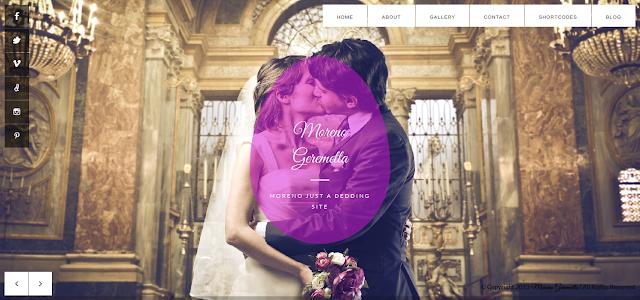 responsive wedding theme