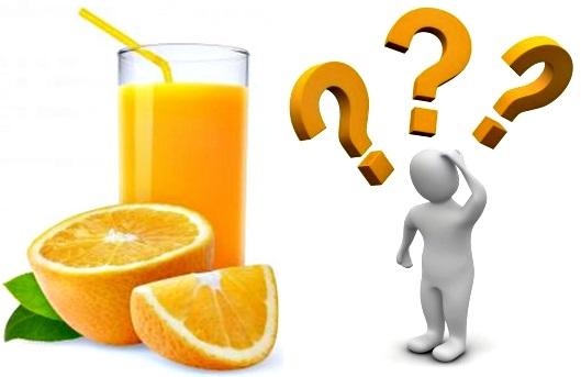 Jugo de naranja todos los días