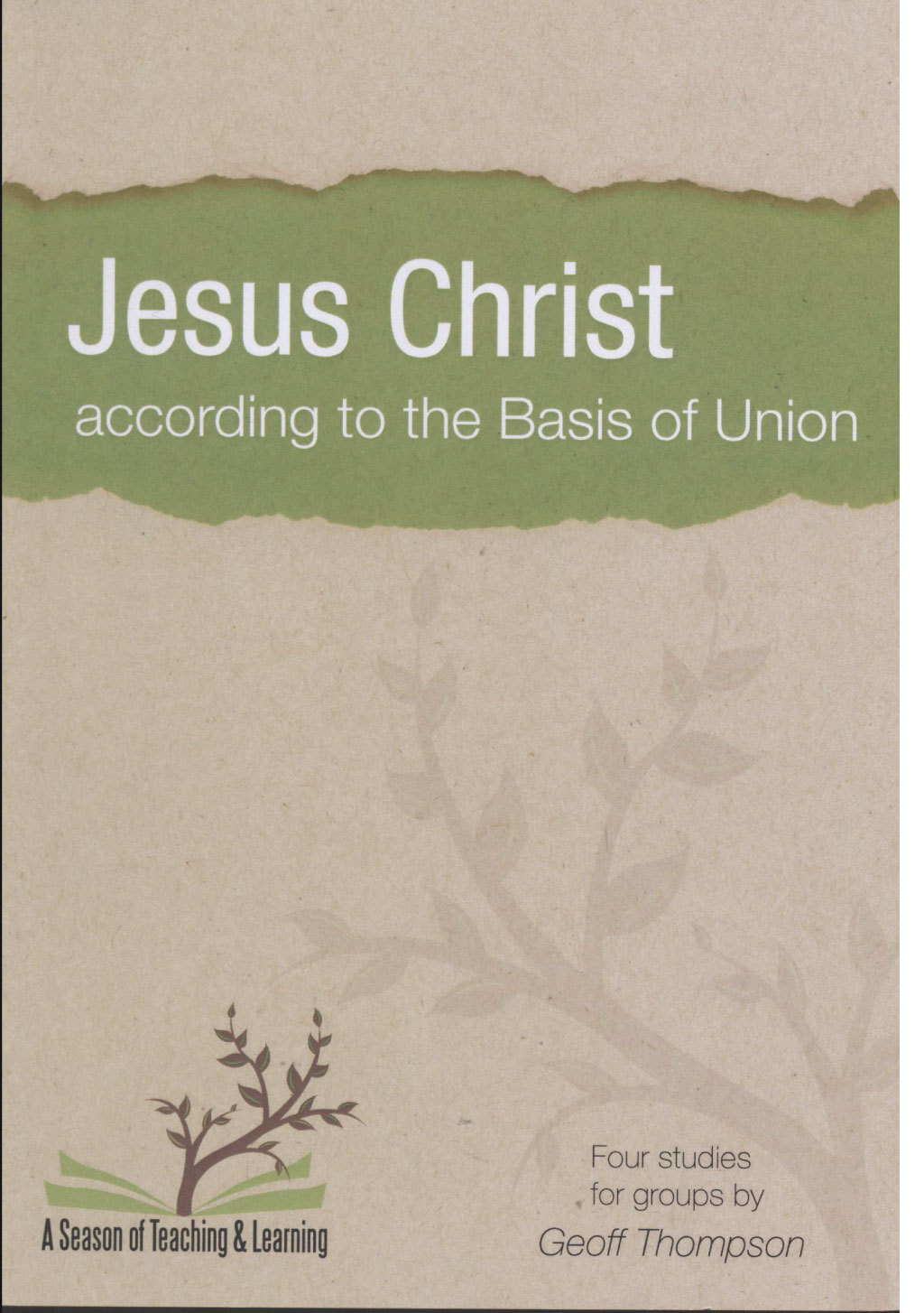 Jesus Christ According to the Basis of Union (2014)