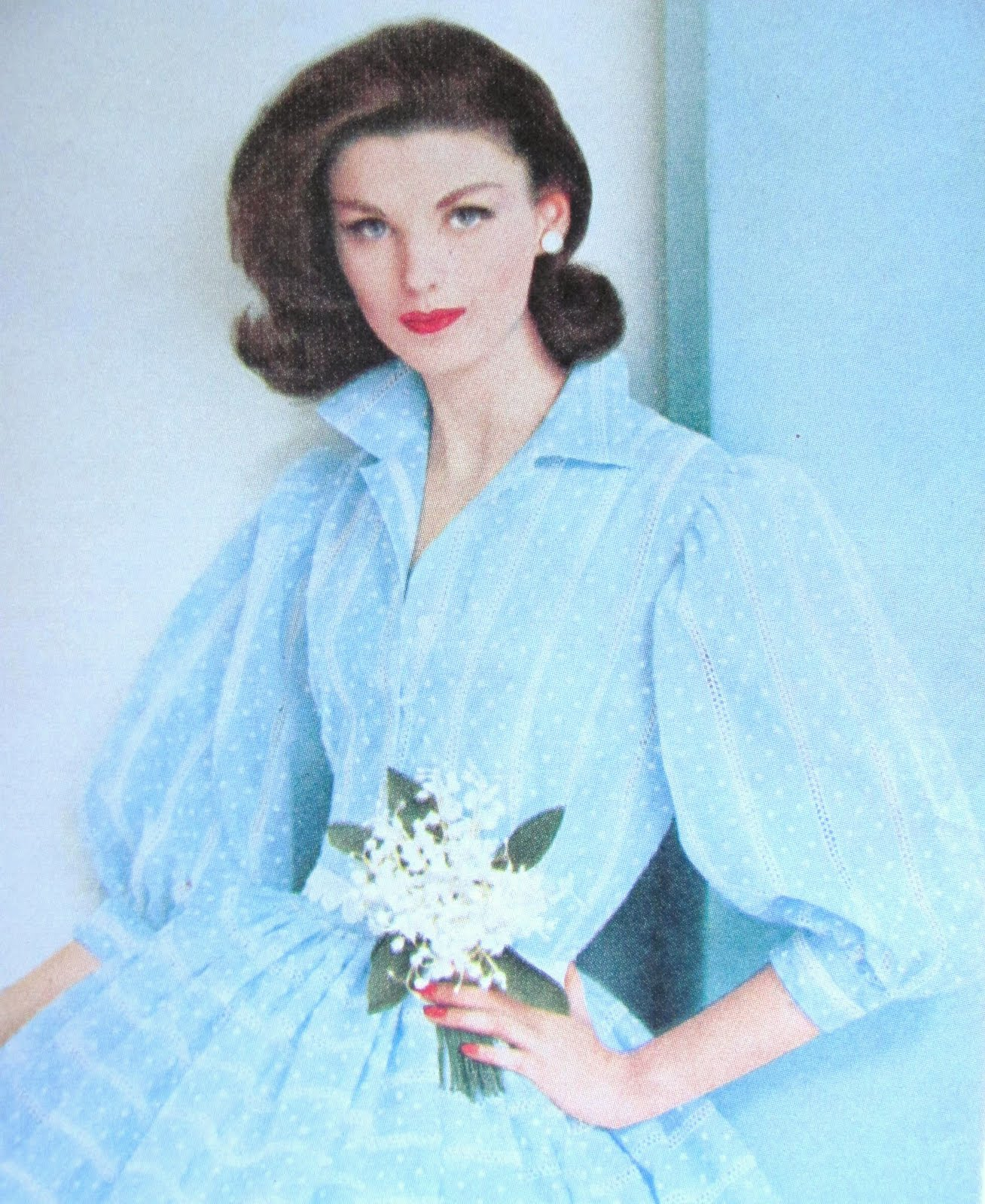 Pintucks: Sewing Vintage Fashion: Vogue Patterns, April 1960