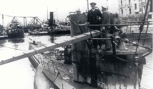 UBoot U-455. Operación paso del Estrecho