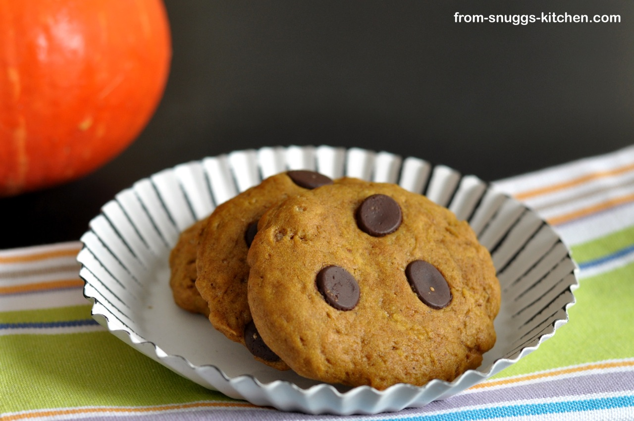 Pumpkin-Chocolate Chip-Cookies