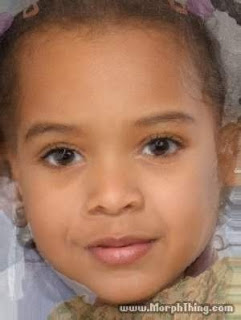 JAYONCE: How JayZ and Beyonce's Baby Girl might look like......lol 1