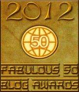 Winner - 2012 Fabulous 50 Blog Awards