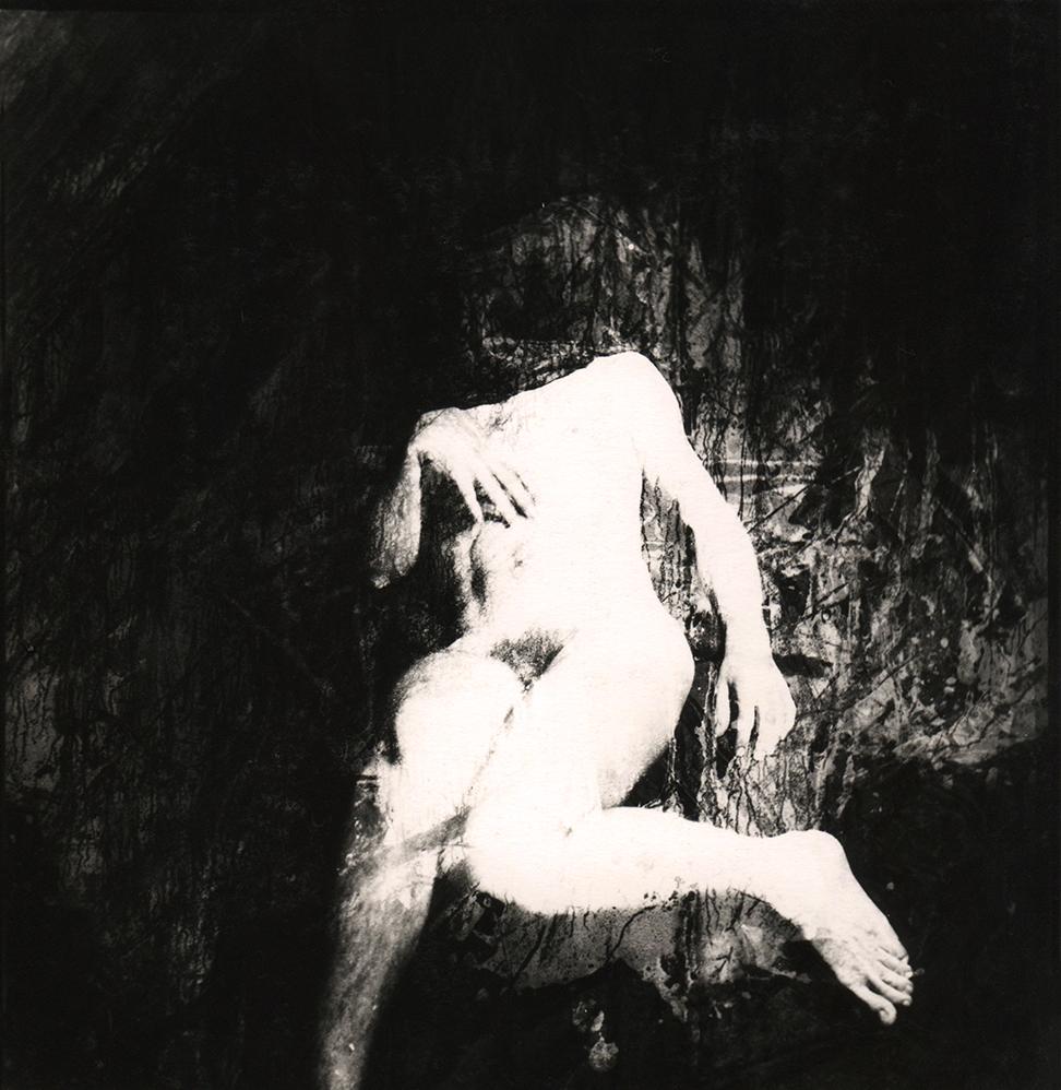 Cédric Gilbert-analog-gelatin silver print-nude-sel portrait