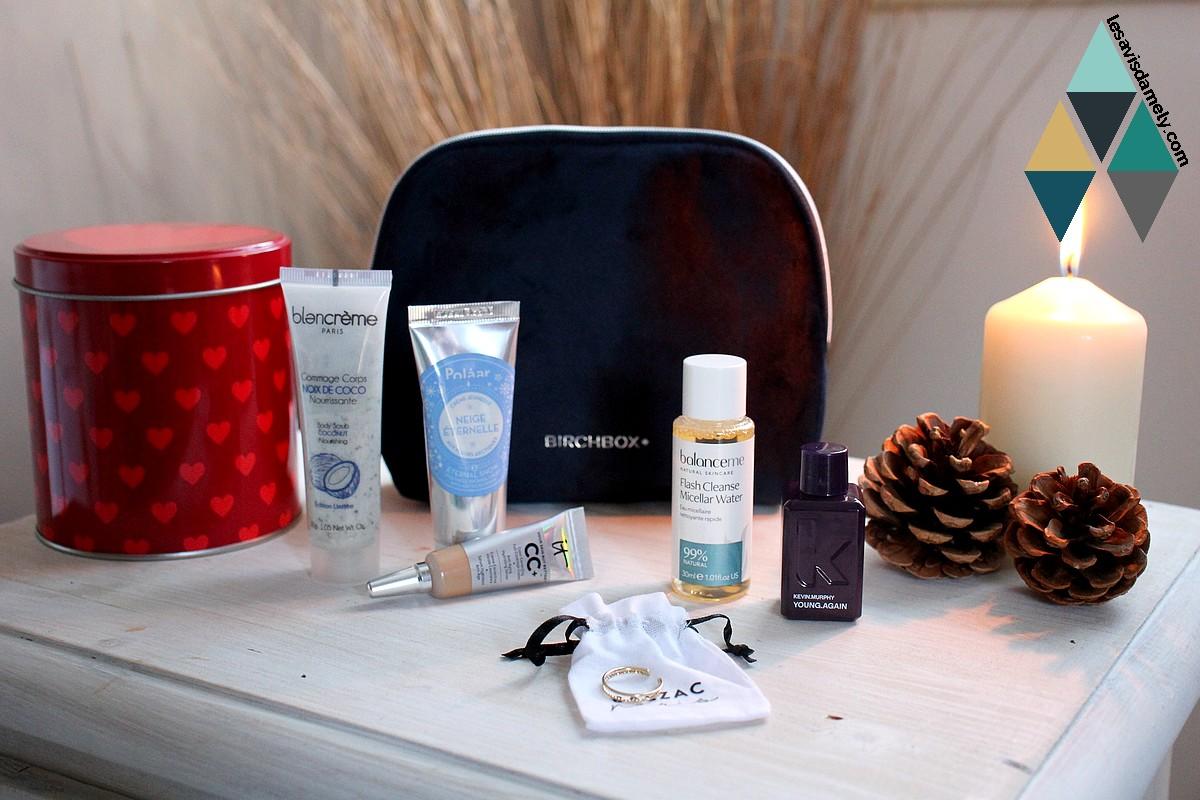 avis et test Birchbox décembre box beauté abonnement