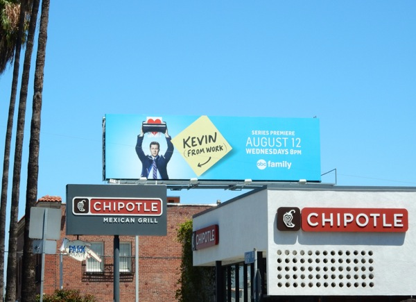 Kevin from Work season 1 billboard