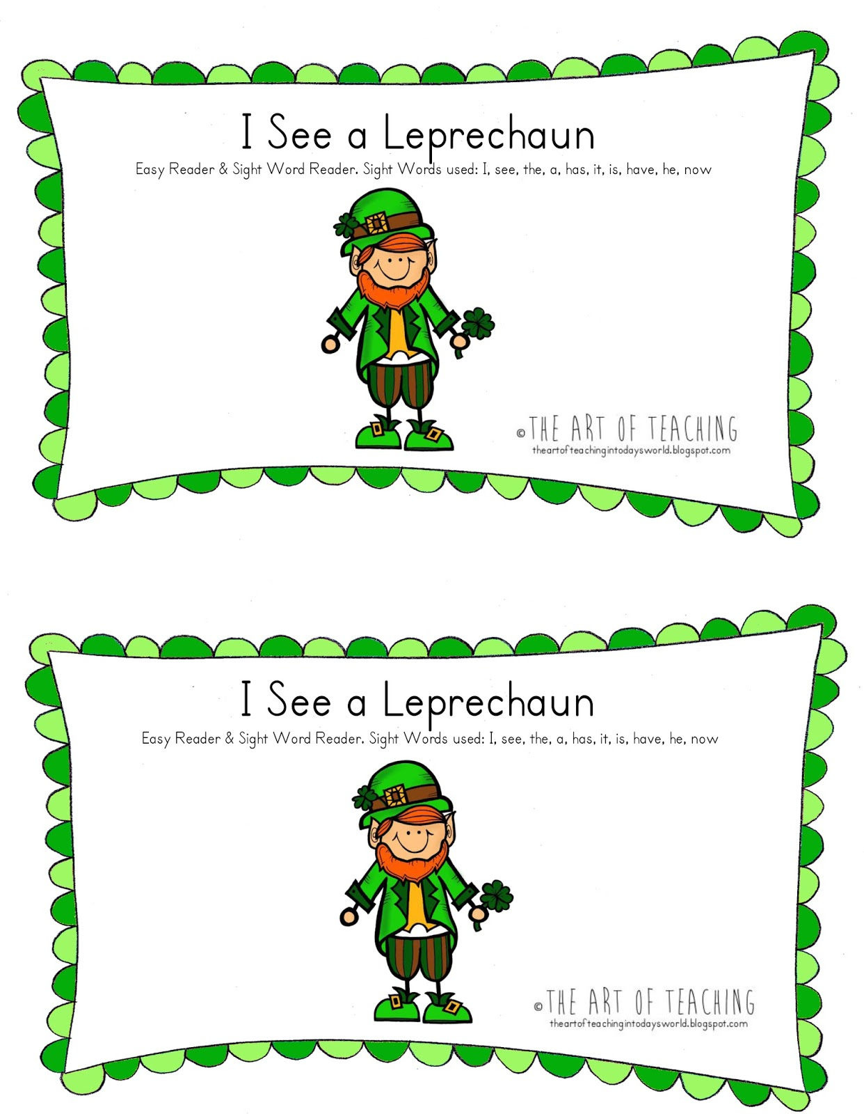 The Art Of Teaching In Today S World St Paddy S Day