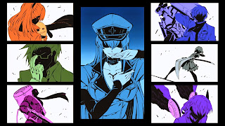 Tapeta Full HD z Akame Ga Kill z Jaegersami i Esdeath