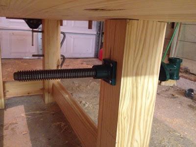 Lawren: Woodworking Bench Leg Vise Wooden Plans for sales