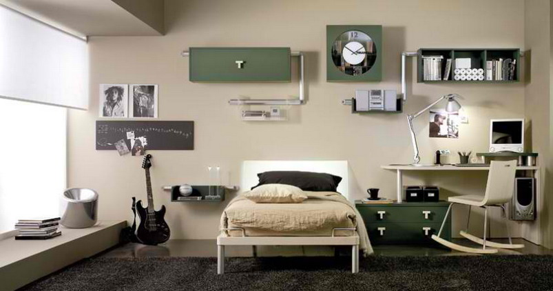 English for everyone feng shui your bedroom - Cool teen boy rooms ...