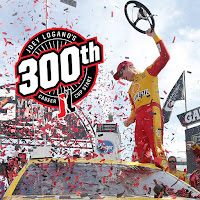 """Winning at Talladega is always fun,"" Logano said."
