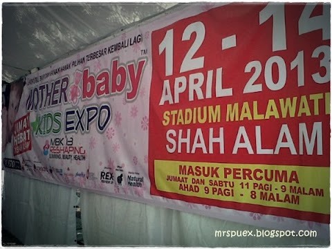 Mother, Kids & Baby Expo 2013