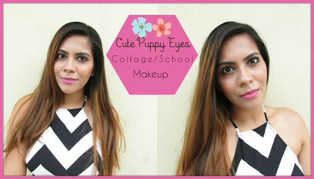 Collage makeup, school makeup, adorable makeup, young looking makeup, Cute Puppy Eyes makeup, 5 minute makeup, K-pallet makeup, Rimmel khol, best eyeliner pen,brown eyeliner,delhi blogger, Indian beauty blog,beauty , fashion,beauty and fashion,beauty blog, fashion blog , indian beauty blog,indian fashion blog, beauty and fashion blog, indian beauty and fashion blog, indian bloggers, indian beauty bloggers, indian fashion bloggers,indian bloggers online, top 10 indian bloggers, top indian bloggers,top 10 fashion bloggers, indian bloggers on blogspot,home remedies, how to