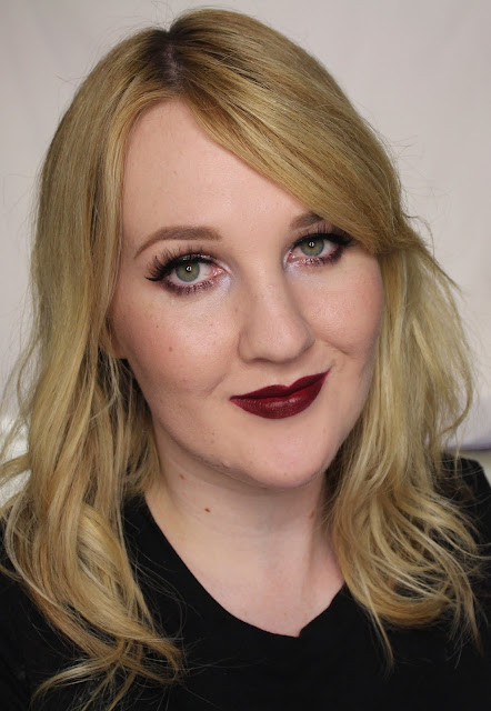 Maybelline Loaded Bolds Lipstick - Midnight Merlot Swatches & Review