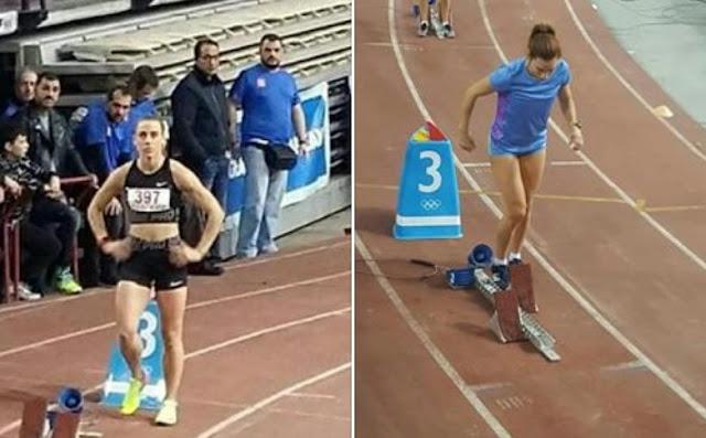 Στον τελικό των 400μ. η Ελπίδα Καρκαλάτου και η Ειρήνη Γεωργαλά του ΣΔΥ Αργολίδας