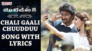 Chali Gaali Chuudduu Song With Lyrics __ Gentleman Songs __ Nani,Surabhi,NivedaThomas,Mani Sharmaa