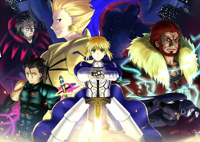 anunciado fim do mangá de fate/zero - www.animangaprofile.com