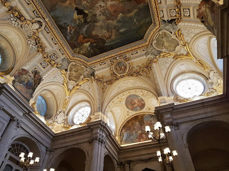 皇宮內部的實景