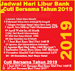 Jadwal Hari Libur Semua Bank Di Indonesia 2019