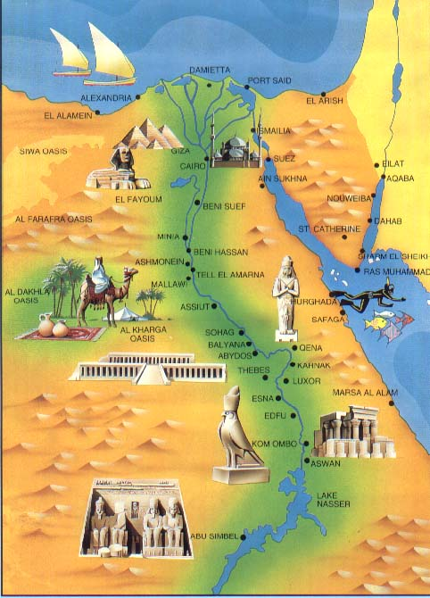 Best Ancient Egypt Maps Ancient Egypt Facts