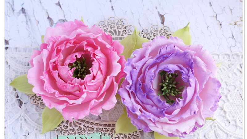 Silk Foam Peony Flower & Video