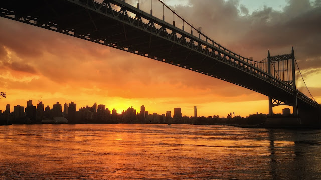 astoria park sunset
