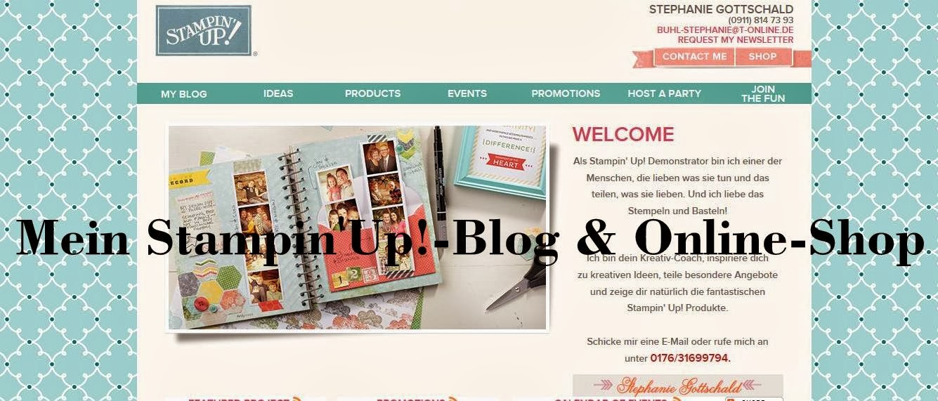 Mein Stampin'Up!-Blog & Online-Shop