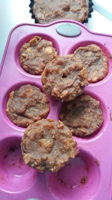 Muffins vegan, gluten libre de mandioca; muffins veganos, gluten libre de mandioca