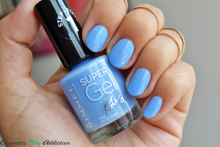 RIMMEL | Lakier do paznokci Super Gel - 052 Blue Babe