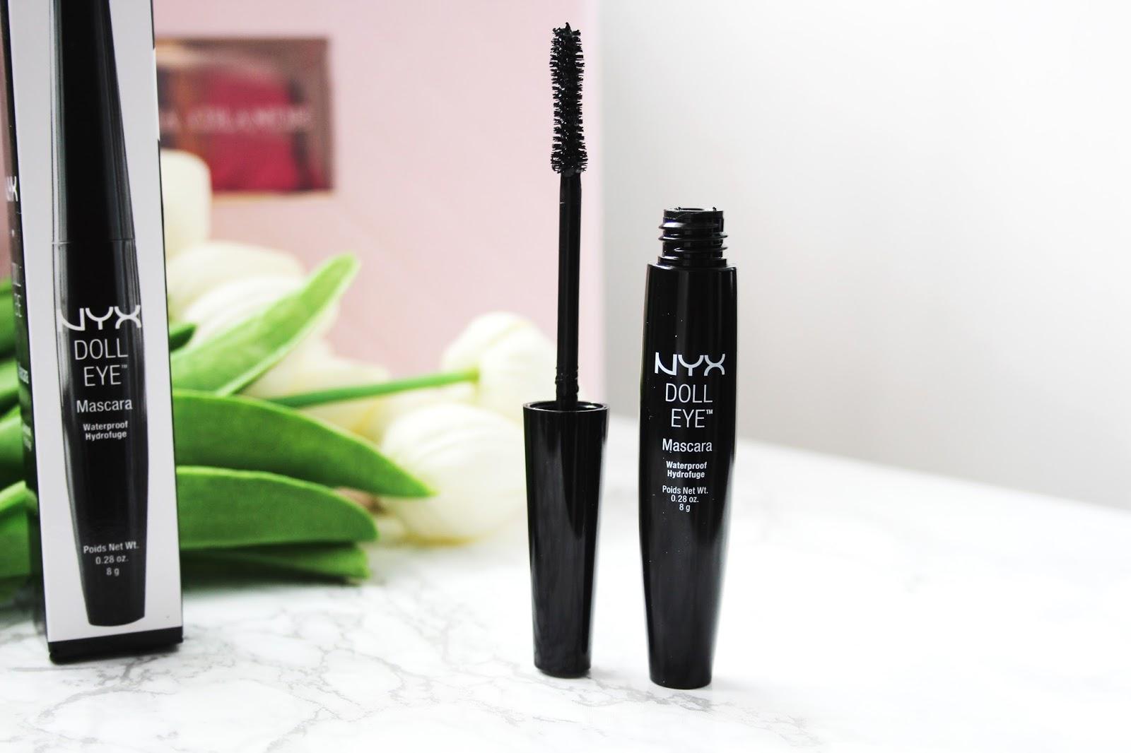 Nyx Doll Eye Mascara Waterproof photos