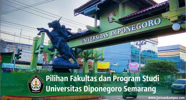 Fakultas dan Program Studi UNDIP Semarang