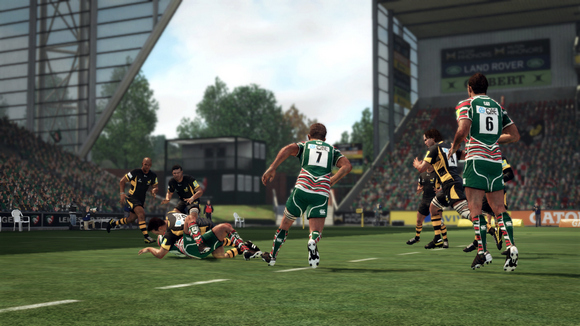 Immerse your senses in the greatest rugby game ever Rugby Challenge 2-FLT