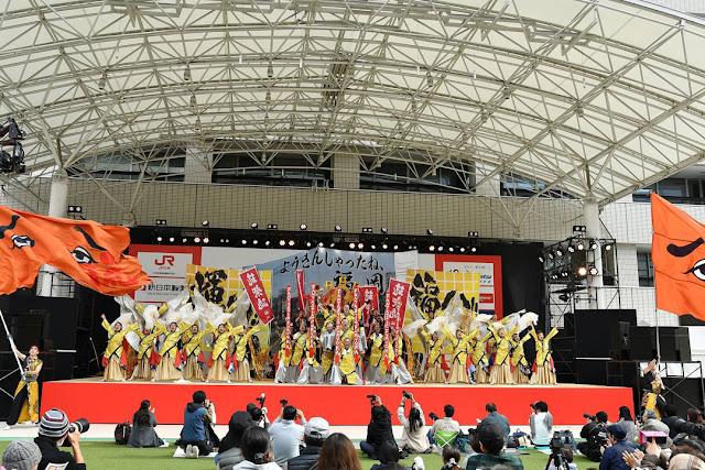 福岡よさこいチーム「流」-ふくこいアジア祭り2018