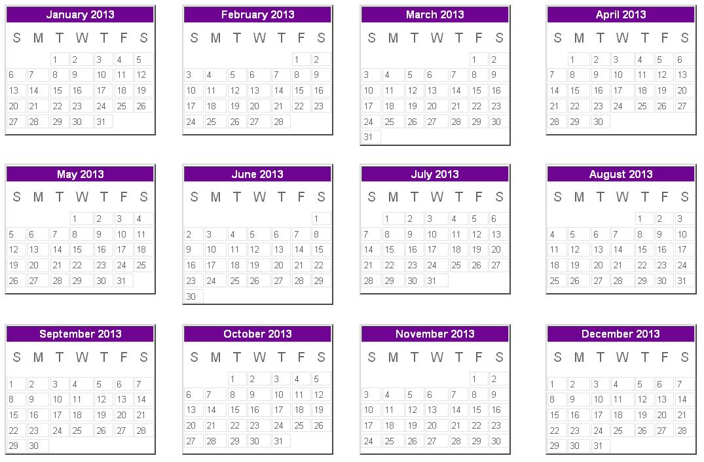 Buztown  2013 Calendar