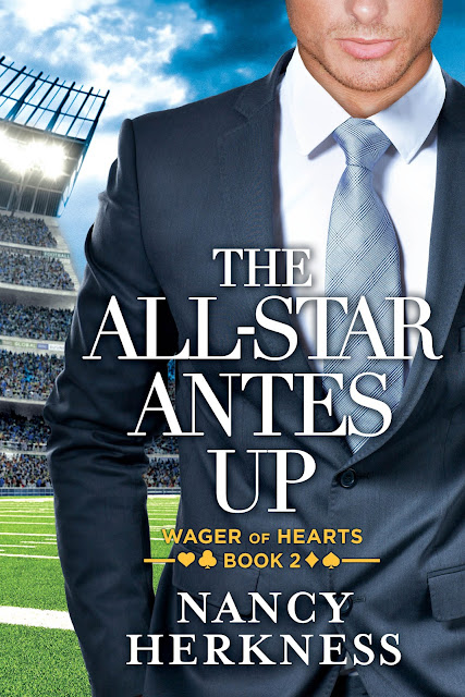 THE ALL-STAR ANTES UP by Nancy Herkness - A COVER REVEAL