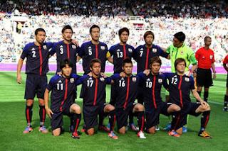 日本対ホンジュラス