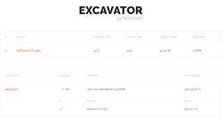 excavator - running2