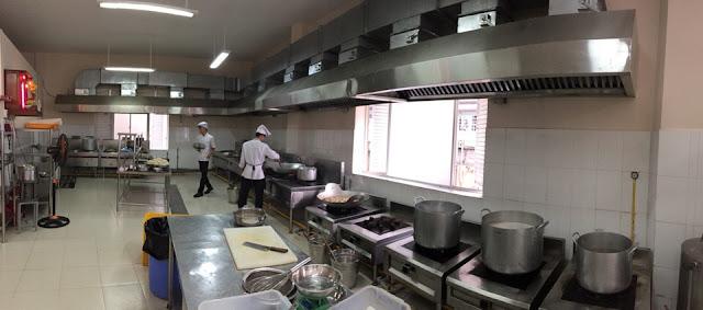 Hút mùi bếp ăn công nghiệp đạt chất lượng cao