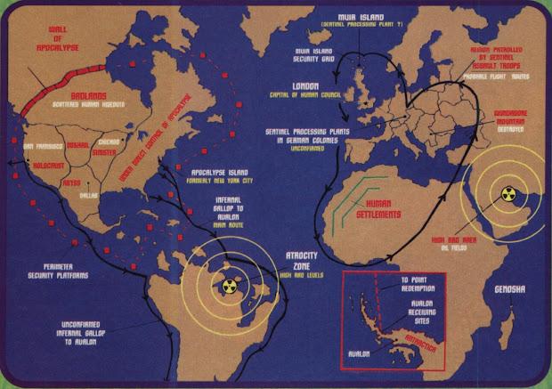 From The World Of Shannara Map Exploring Mars