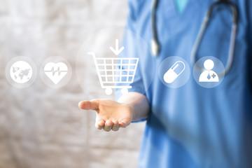Sklep medyczny - dbajmy o swoje zdrowie.