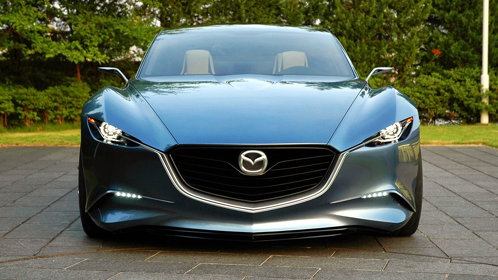 Cars Wallpapers: Mazda Shinari On Hd Wallpaper